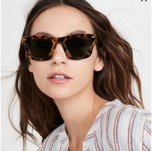 Karen Walker Alexandria Crazy Tort Sunglasses